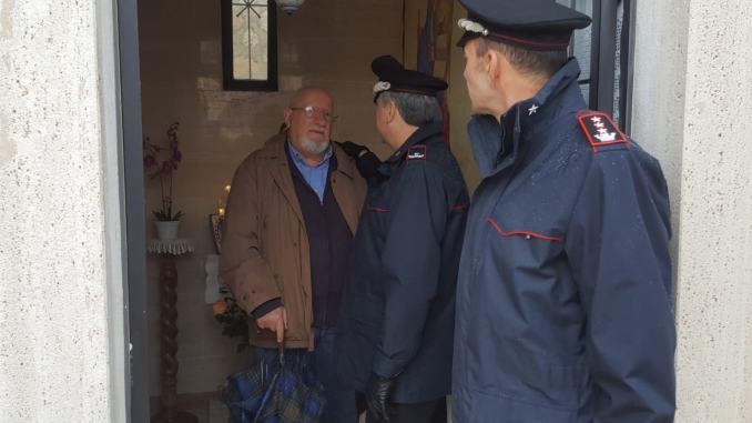 Commemorazione del Carabiniere Angelo Foccià, morì in Bosnia Erzegovina