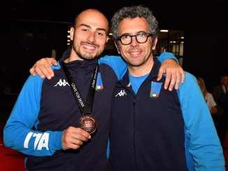 Coppa del Mondo, a Bonn terzo posto per Alessio Foconi