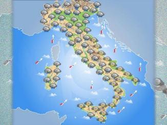 Meteo 3 novembre 2019 violenta ondata di maltempo sull'Italia