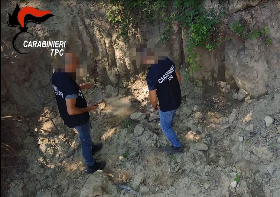 Trovato un tesoro d'arte a Crotone, 2 arresti e 4 indagati, anche umbri nella banda