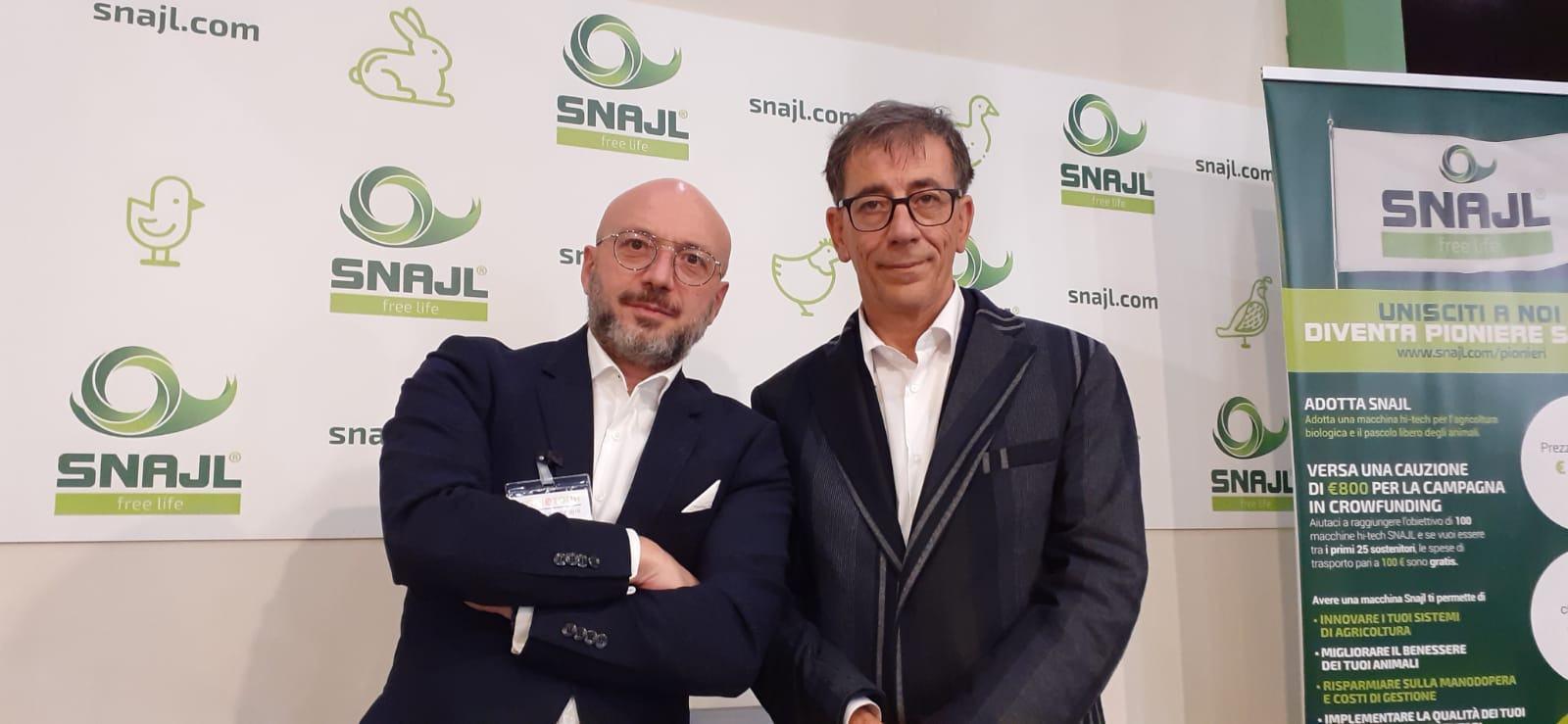 SNAJL, rivoluzionarie macchine hi-tech per l'agricoltura biologica e il pascolo libero degli animali