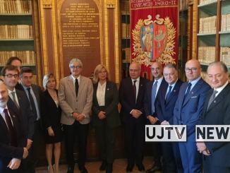 Università di Perugia, il neo rettore Maurizio Oliviero ha presentato i dieci delegati | Foto