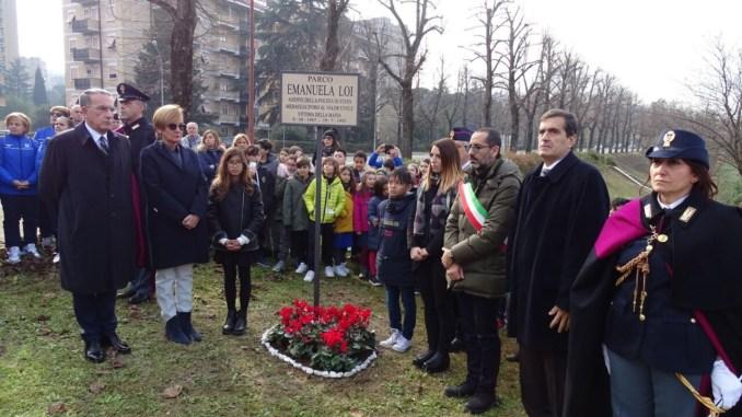 Intitolato un parco cittadino ad Emanuela Loi, agente di scorta di Borsellino uccisa