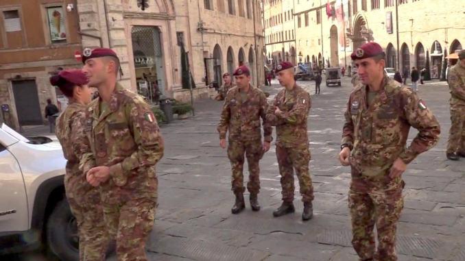 Esercito a Fontivegge, Ministero deciderà eventuale assegnazione dei militari