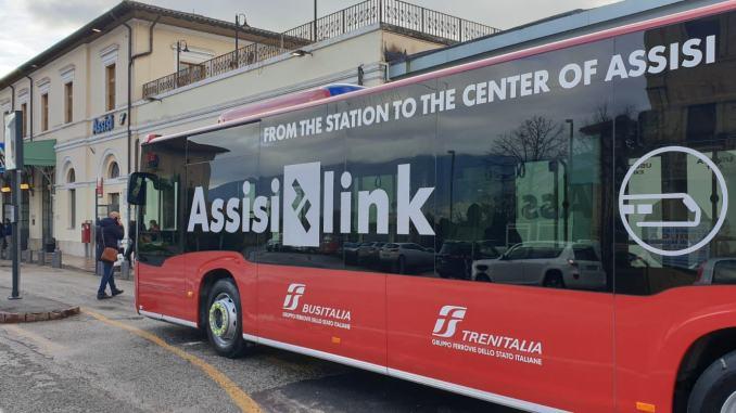 Assisi Link, il nuovo bus che connette la stazione al centro