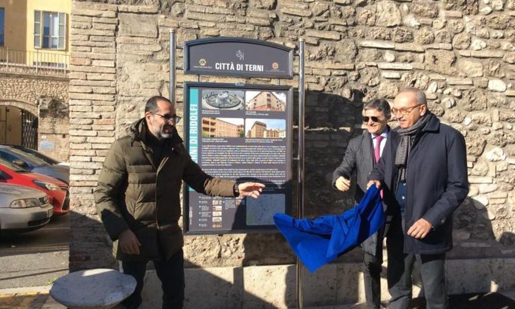 Pannelli multimediali per cinque itinerari di Terni