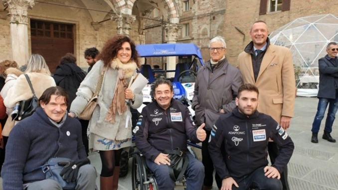 Gianluca Tassi pilota perugino disabile andrà all'Africa Eco Race