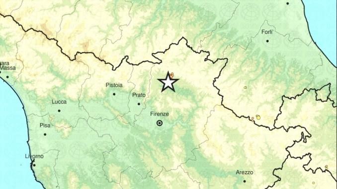 Terremoto in Toscana, scossa maggiore 4,5 avvertita anche  Perugia