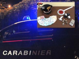 Scoperto bazar della droga, carabinieri arrestano giovane straniero