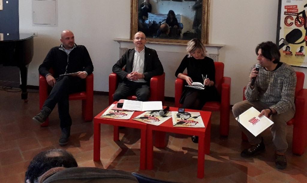 """Perugia """"Comic"""", stand up comedy, al via il 31 gennaio"""