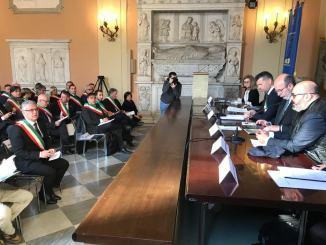 Decreto sisma, incontro con viceministro Crimi, dare più responsabilità ai sindaci