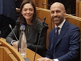 Eleonora Pace e Marco Squarta