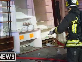 Ad allentare i vigili del fuoco sono stati alcuni abitanti della zona
