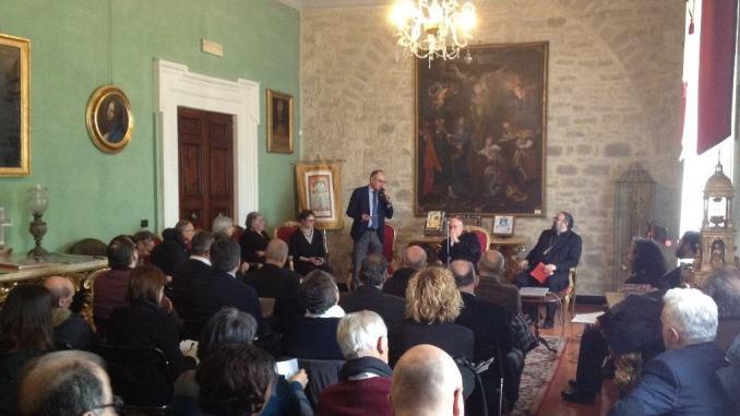 San Francesco di Sales, cardinale Bassetti incontra i giornalisti, 25 gennaio