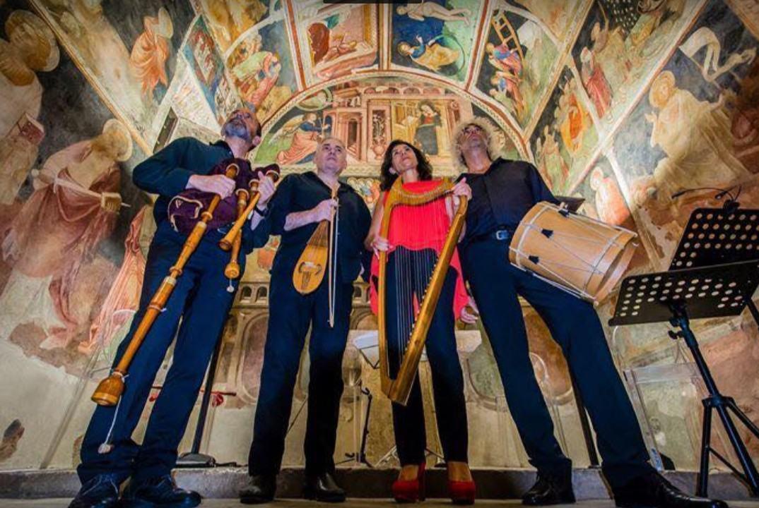 Domenica 2 febbraio chiesa di Sant'Ercolano Perugia concerto Micrologus