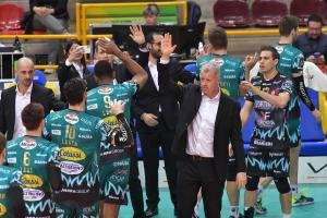 Sir Volley, Perugia espugna Calzedonia Verona al tie break
