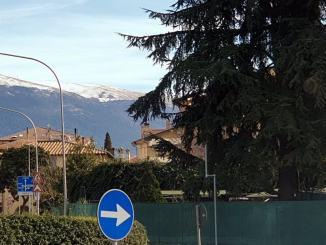 In Umbria neve e freddo temperatura fino a meno 7 gradi a Castelluccio