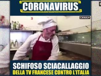 Coronavirus Meloni, FdI, furiosa video su tv francese, Canal +, è disgustoso è anti italiano
