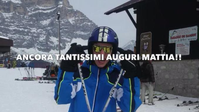 Un compleanno speciale al tempo del Coronavirus per Mattia Fiorucci, Auguri!!!