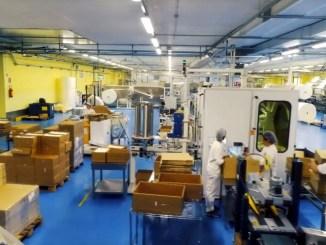 Coronavirus, un'azienda di Spello produce gel igienizzante per mani e mascherine