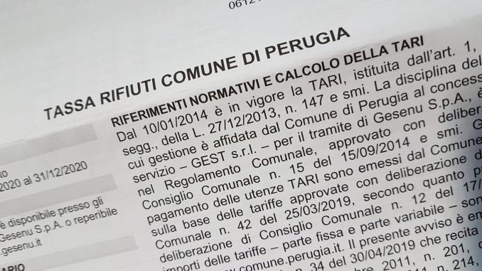 Tari 2020 Perugia, consiglio comunale approva le tariffe
