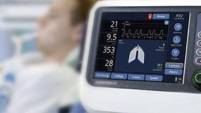 Utilizzo ventilatori terapia intensiva, chiesto al governo l'invio di 49