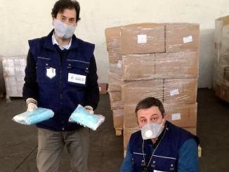 Perugia, rapido sdoganamento di 500.000 mascherine