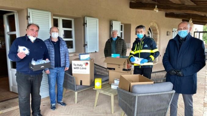 To Italy with love alla Protezione Civile 5000 mascherine dalla Germania