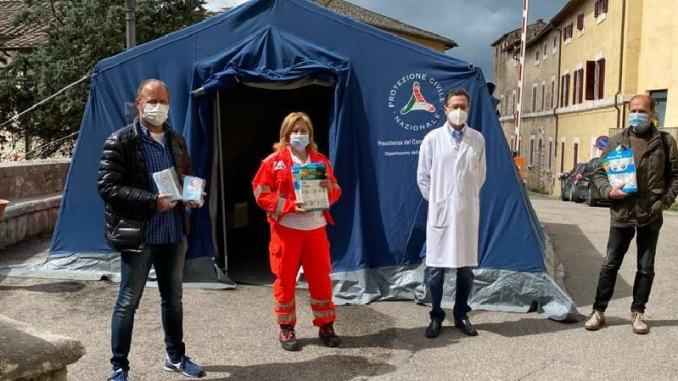 Ospedale di Amelia, donate mascherine e tute ai sanitari