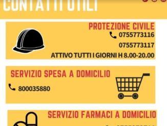 Emergenza Covid a Perugia, i numeri da chiamare per i cittadini