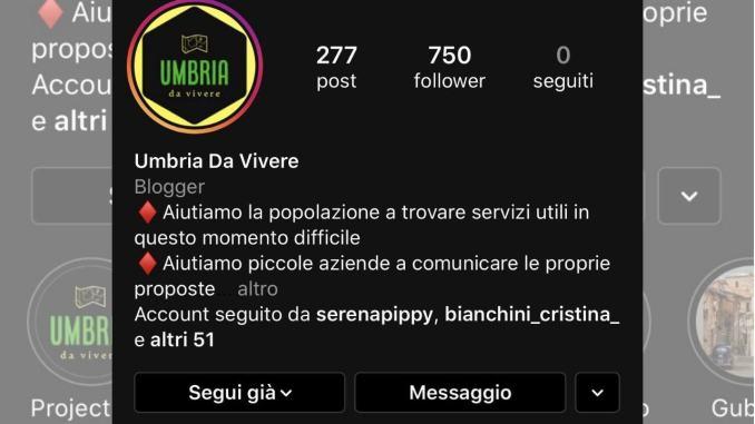 Umbria da Vivere, una finestra social sul Cuore Verde d'Italia