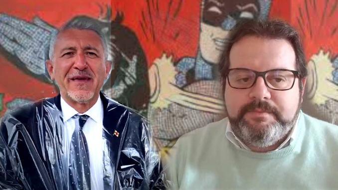 Battute al vetriolo, schiaffoni sui social, tra Valerio Mancini e il sindaco di Cannara, Fabrizio Gareggia