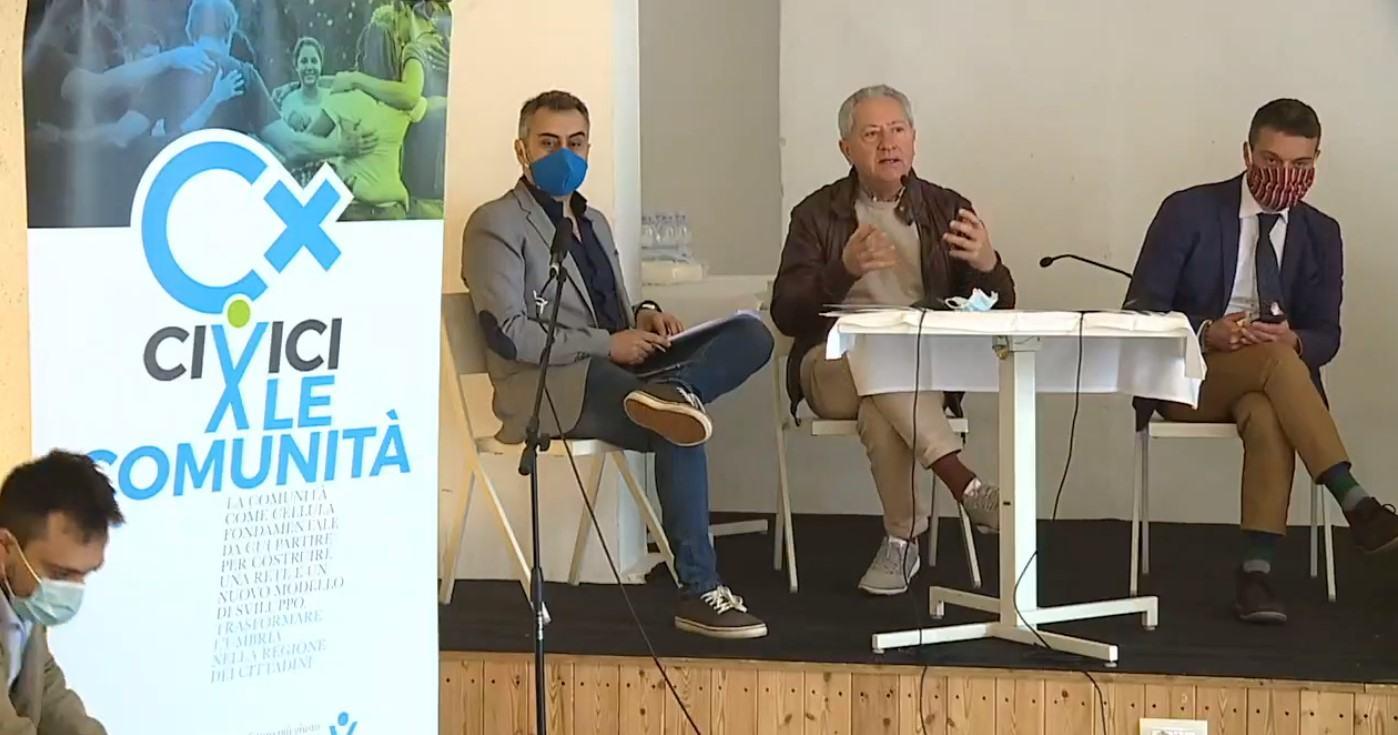 Civici per l'Umbria, sostenere un nuovo umanesimo tra individuo e comunità 🔴