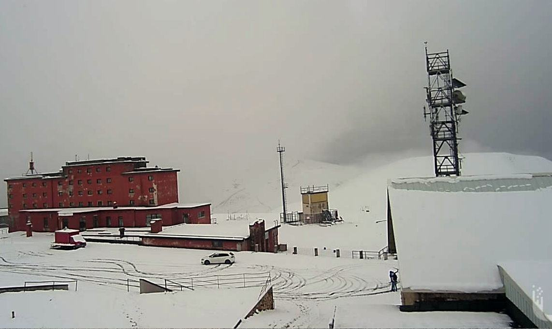 Temperature in sensibile calo, è tornata la neve sugli Appennini
