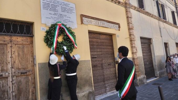 Perugia, le celebrazioni del xx Giugno e l'albo d'oro