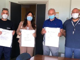 Importante donazione al Santa Maria di Terni, camici cat.3 Biohazard
