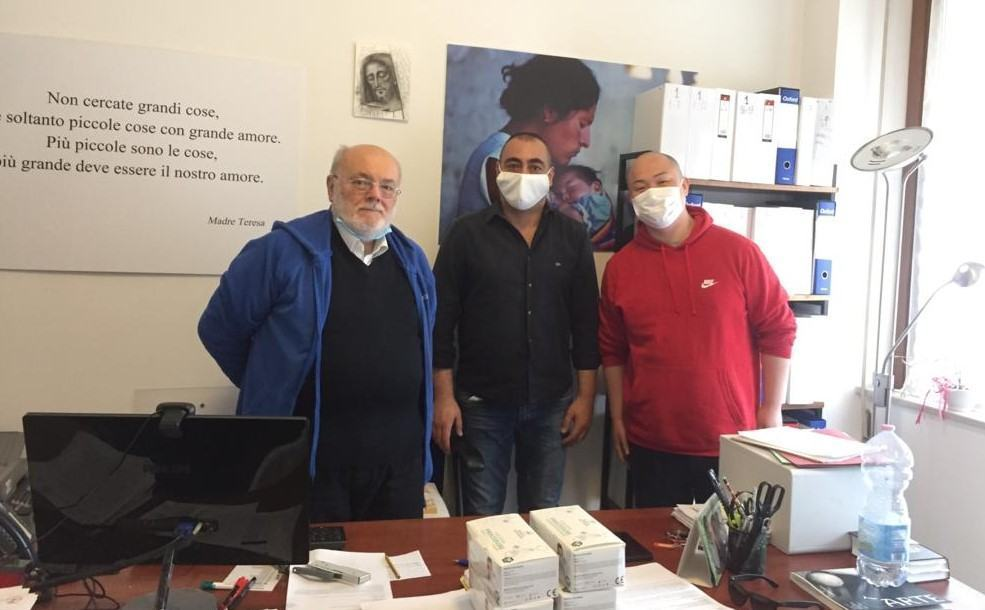 Marco Polo, la solidarietà alla Caritas di Perugia parla cinese