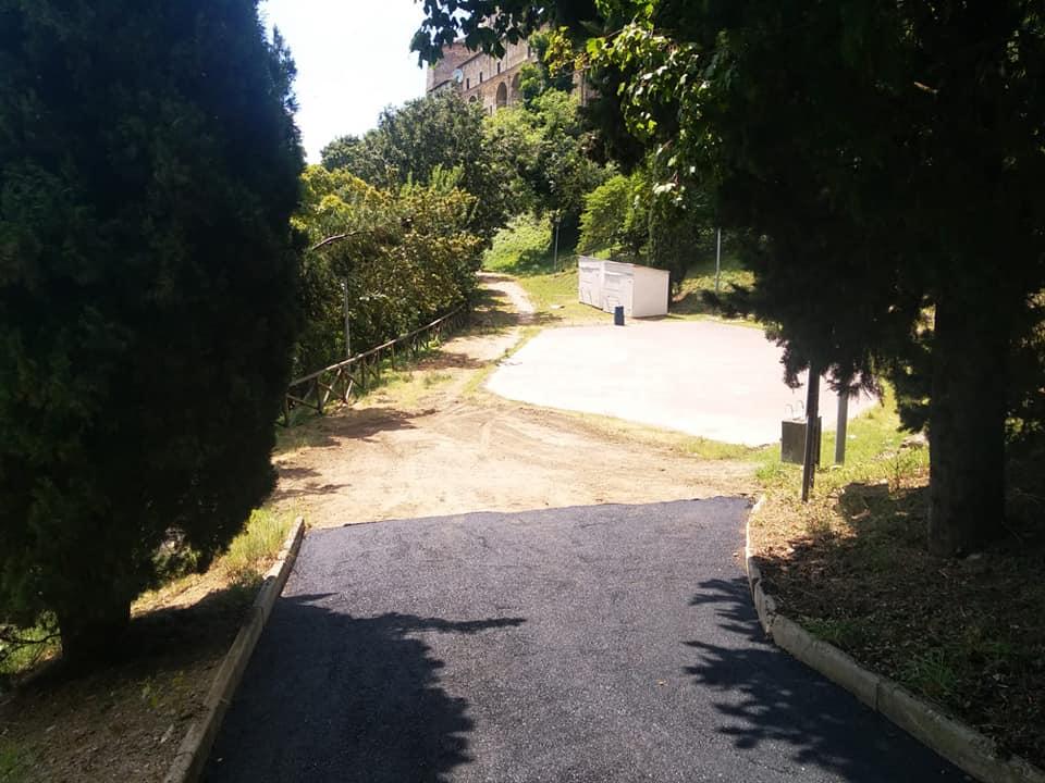 Parco Sant'Angelo e Corso Garibaldi Perugia progetto di rigenerazione