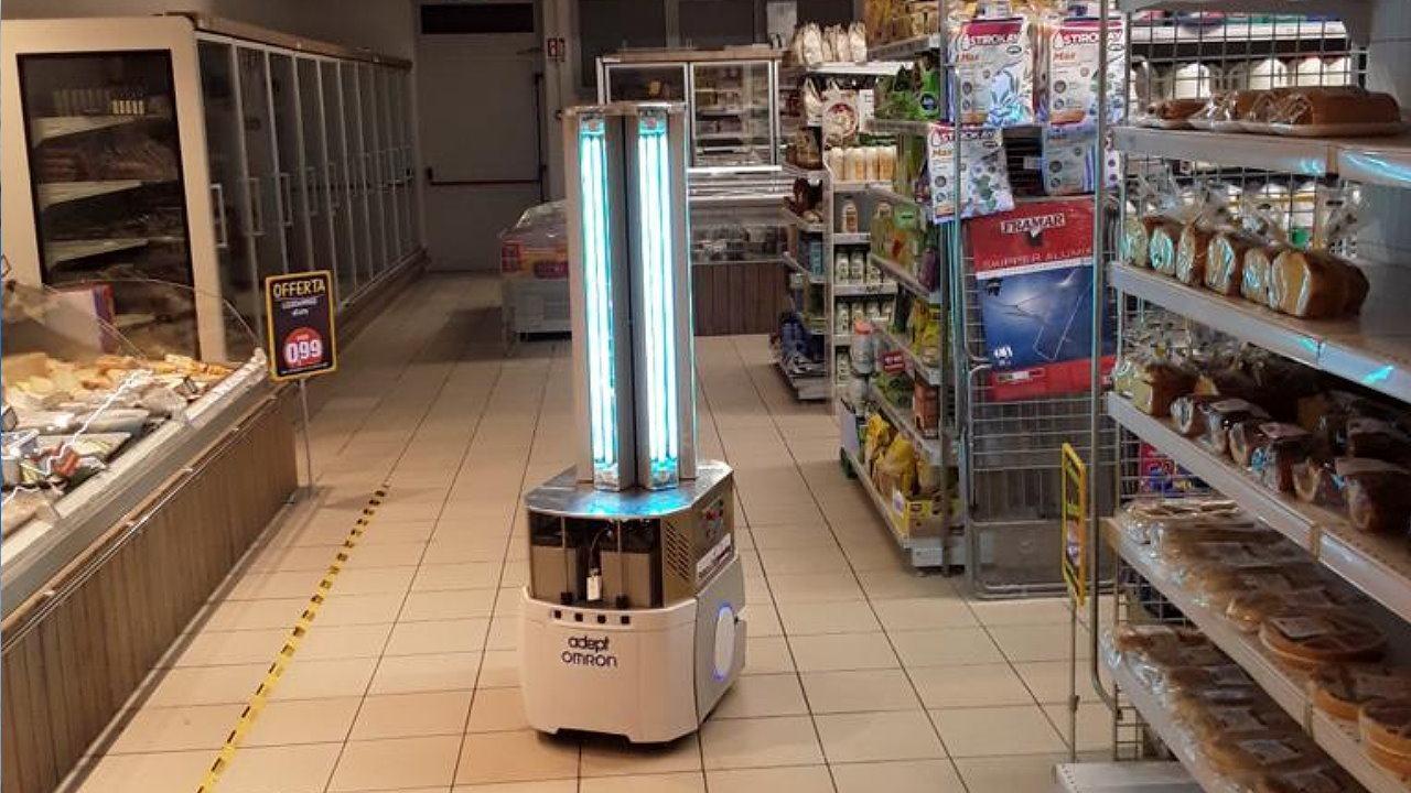 Robot Omron per sanificazioni anti covid, il genio di due ingegneri tifernati
