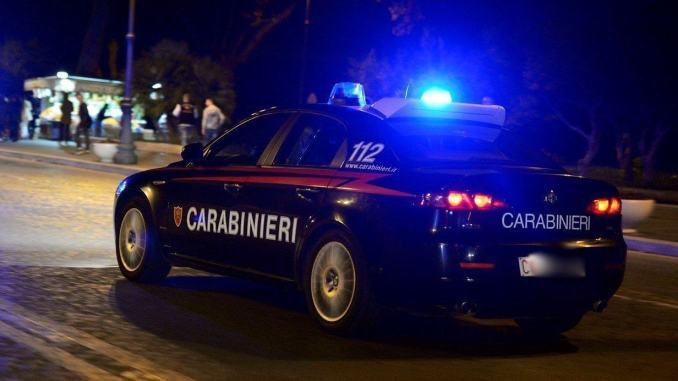 Carabinieri mettono in fuga malfattori, è successo a Terni
