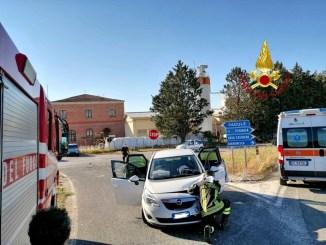 Incidente stradale a Gubbio, sulla 219, ragazza ferita