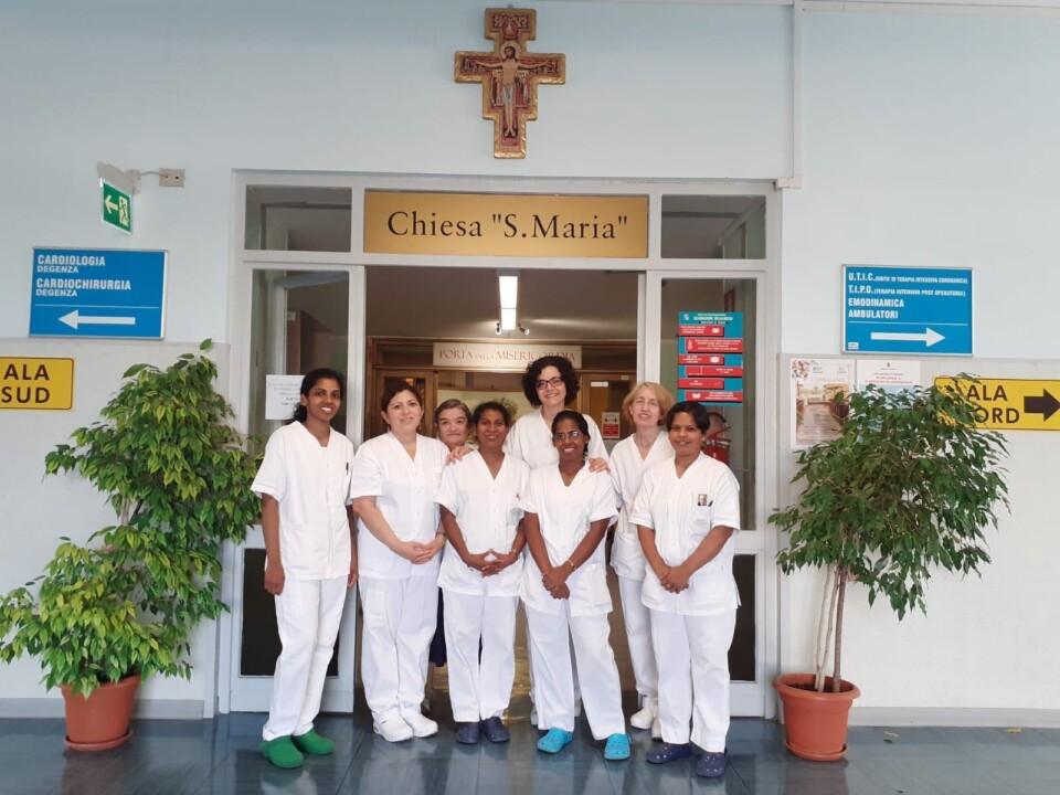 Ospedale di Terni, suore missionarie per assistenza umana e spirituale ai più fragili