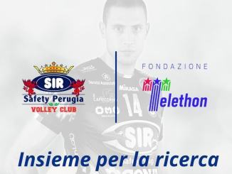Sir Safety Conad Perugia sosterrà la Fondazione Telethon
