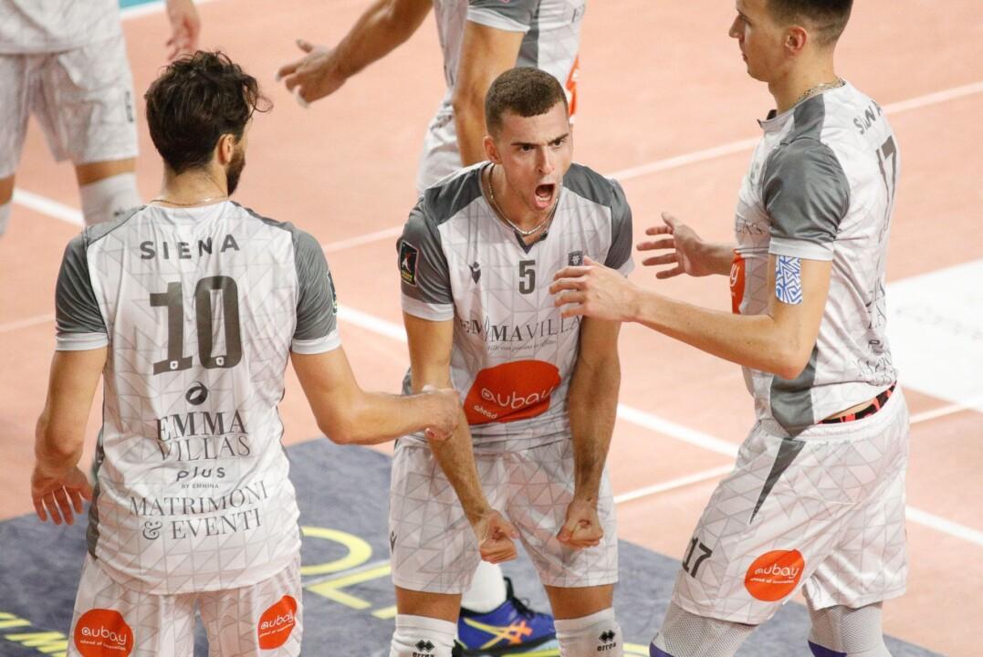 La Emma Villas Aubay Siena vince il test match a Santa Croce (2-3)