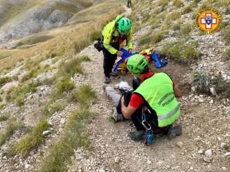 Interventi complessi nel fine settimana per soccorso alpino e speleologico umbria