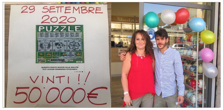 Vinti 50mila euro con gratta e vinci alla tabaccheria di via dei Filosofi