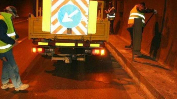 """3bis """"Tiberina"""" (E45) proseguono lavori risanamento pavimentazione"""