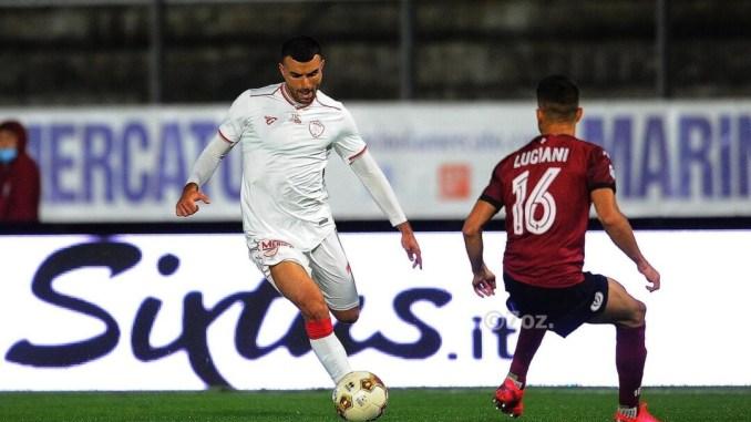 Il Perugia batte Arezzo bel gioco e gol di Cristian Kouan