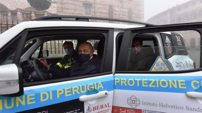 Alla Prociv di Perugia un'auto per i servizi di prevenzione ed emergenza