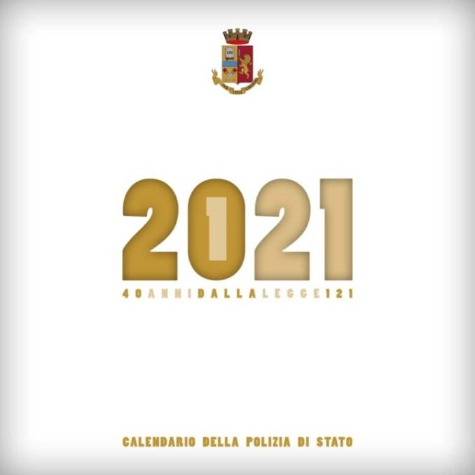 Presentato il nuovo calendario istituzionale 2021 della Polizia di Stato
